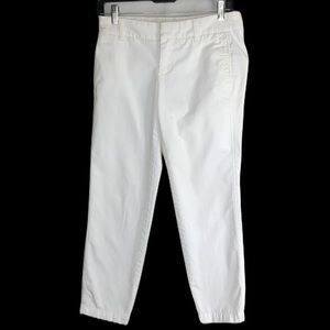 J.Crew broken in Scout Chino city fit cropped pant